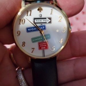 Kate Spade Street Sign Watch